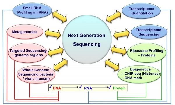 روش های توالی یابی ژنوم (NGS)